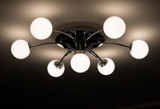 Deckenlampen mit guter Abdeckung und mehreren Leuchten