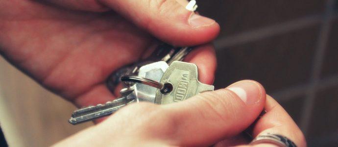 Schlüssel in der Hand