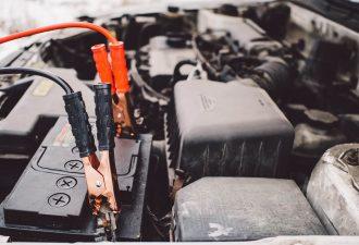 Autobatterie Abdeckung