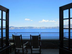 Balkon vor einer Terasse