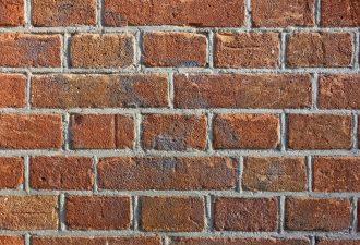 Mauerwerk vorm dem Schlämmen