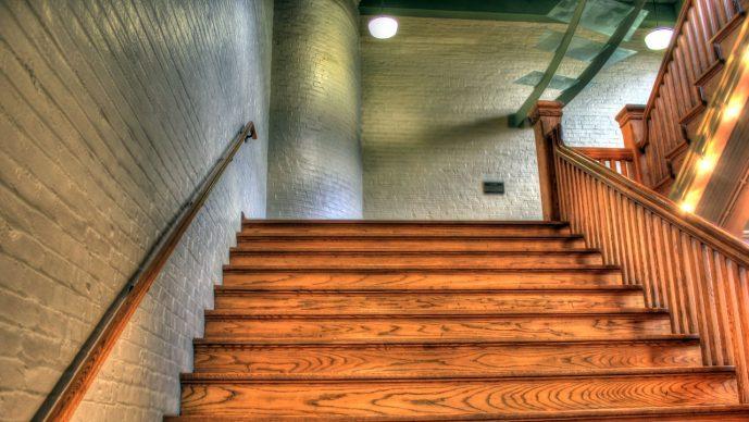 Treppenbreite in einem Wohnhaus