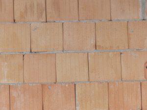 Wand mit wasserdichtem Mörtel