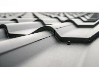 metalldachplatten grau