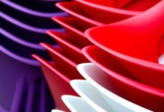 Plastikhüllen und Plastikschalen