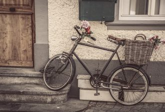 Fahrrad huelle