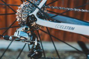 Spannen einer Fahrradkette
