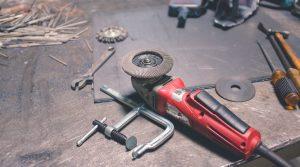 Estrichfräse zum bearbeiten von Beton oder Estrich bei Unebenheiten oder für unschöne Stellen.