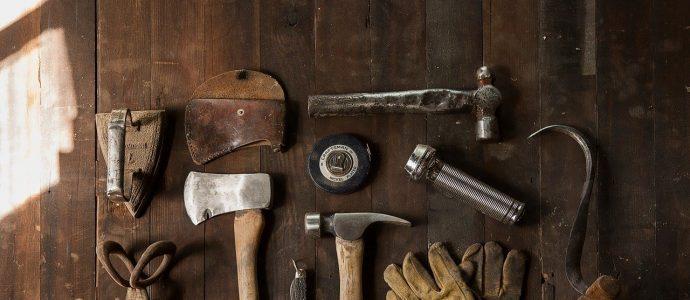 Viele feine Werkzeuge von Dieter Schmid